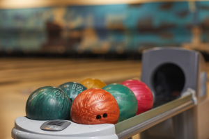 Bowling alley in Addison, Illinois