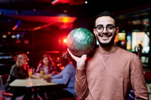 Company bowling party in the Elmhurst, Illinois area