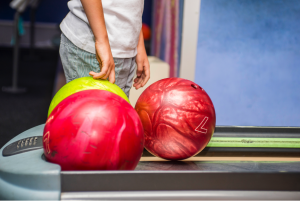 Children's bowling birthday party in the Elmhurst, Illinois area